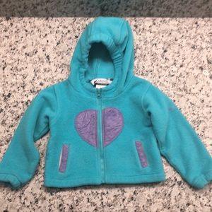 🎉 5/$15 Columbia Hooded Zippered Fleece Jacket